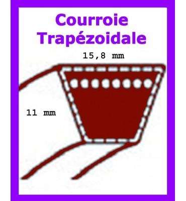 courroie de coupe mastercut VI 145/107