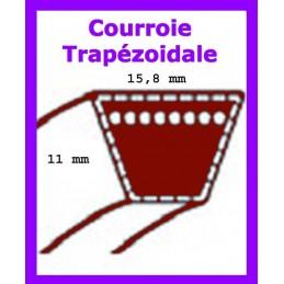 courroie variateur/boîte edenparc 155/107